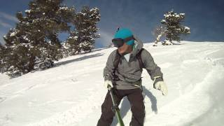 Powder Mountain Snowboarding in Utah October 27 2012 GoPro Hero3 3