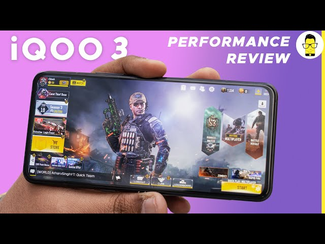 iQOO 3 performance review: PUBG test, charging test, benchmarks, 180Hz touch response rate!