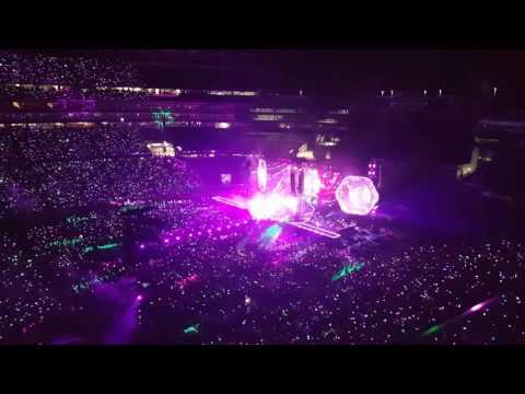 Coldplay Paradise Boston 2016