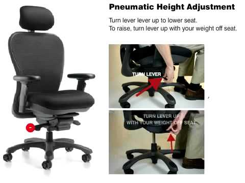 Nightingale Cxo Chair Features