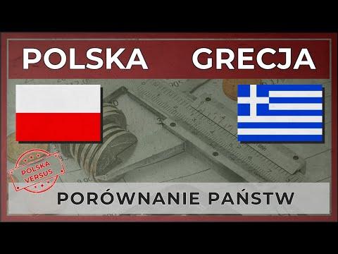 POLSKA vs GRECJA | Porównanie państw (2018)
