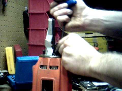 Paslode Cordless Framing Nail Gun O Ring Repair Youtube