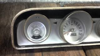 196_ Ford Fairlane 500 Instrument cluster