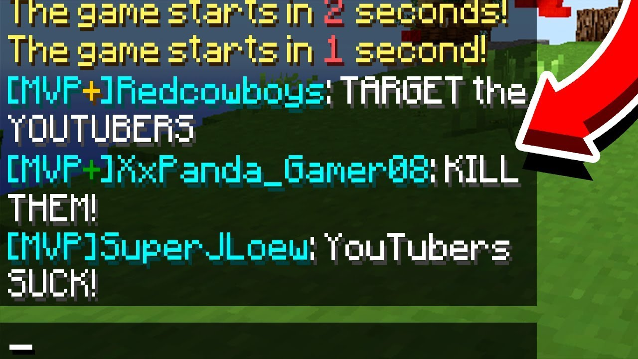 This is why YOUTUBERS DISGUISE on Minecraft servers