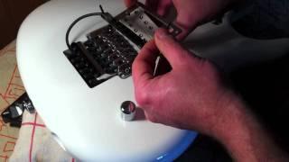 Roland GK2 GK3, adaptation/montage sur une guitare Ibanez JS 2400