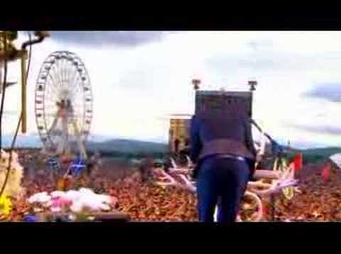 Killers - When You Were Young (LIVE at T in the Park 2007)