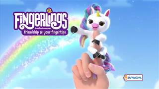 Fingerlings Unicornio (Modelo Gigi) Educando
