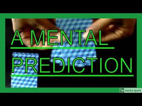 ONLINE MAGIC TRICKS TAMIL I ONLINE TAMIL MAGIC #206 I A mental prediction