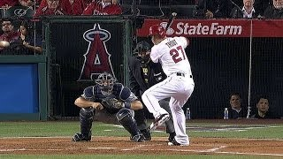 Trout blast a homer in his first 2014 at-bat