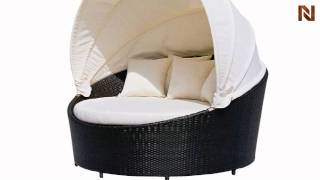 Round Outdoor Day Bed Vgcwgb10