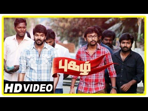 Pugazh Tamil Movie | Scenes | Jai Supports Vikram in Election | Marimuthu | Karunas | RJ Balaji