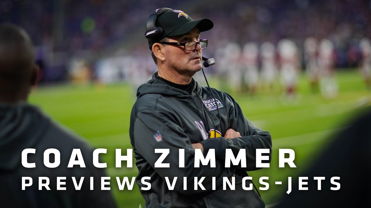 mike-zimmer-on-darnold-s-strengths-chance-for-big-plays-on-offense-barr-playing-with-a-fire