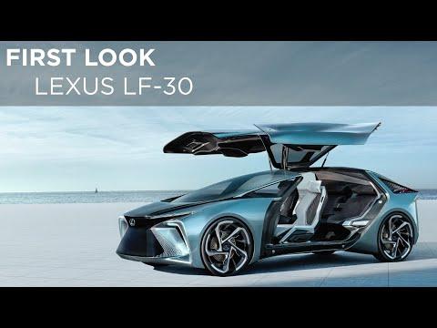 Lexus LF-30 Concept | First Look | Driving.ca