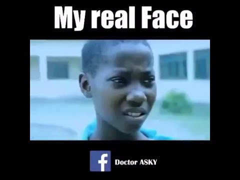 Video dialog bocah afrika, ngakak deh gan, that real face :v