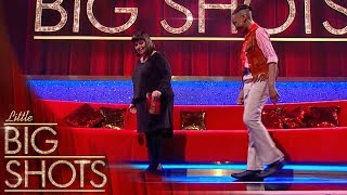 How to moonwalk : Dawn gets a lesson from a young Michael Jackson | Little Big Shots