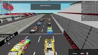 That Escalated Quickly! // ROBLOX: NASCAR 18'
