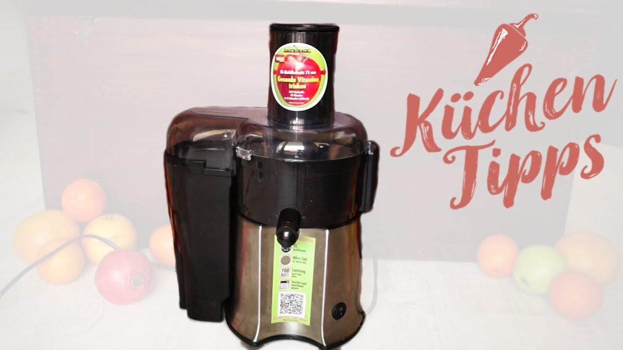 Entsafter Test Gastroback Vital Juicer Pro Obst Und Gemuse