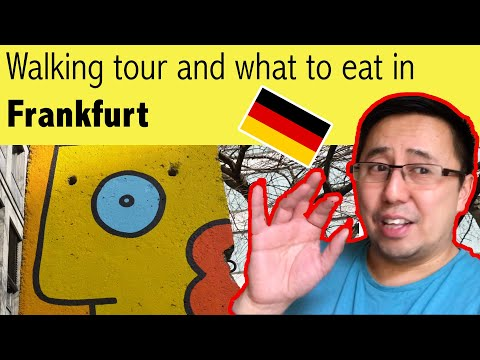Frankfurt Germany Weekend - What to eat & drink, walking tour in a weekend - Germany Vlog #2.1