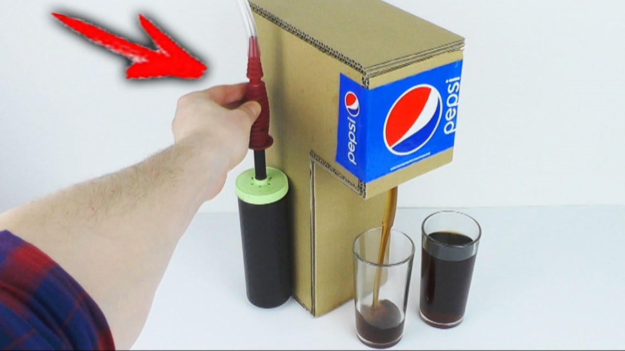 how to get a soda machine