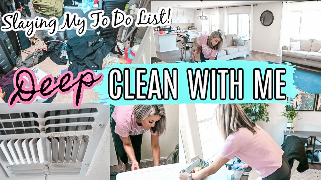 DEEP CLEANING | CLEAN WITH ME 2020 | EXTREME CLEANING MOTIVATION