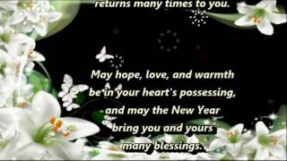 A New Year Blessing Happy New Year Wishes Greetings Sms Quotes Sayings Blessings Prayers