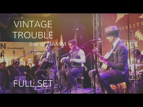 Vintage Trouble Performs at Taylor Guitars (Full Set) •  NAMM 2015