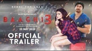 Baaghi 3 (2019) - Movie Trailer | Tiger Shroff | Akshay Kumar | Releasing on 23 rd May 2020