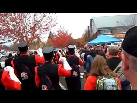 Oregon State Marching Band Beaver Walk Fight Song 2012
