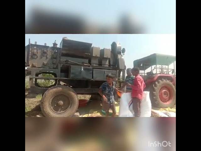 Cutter Thresher Running In Soyabean Updated Vlog By Preet Agro Call:+91-8837513821/9413068842