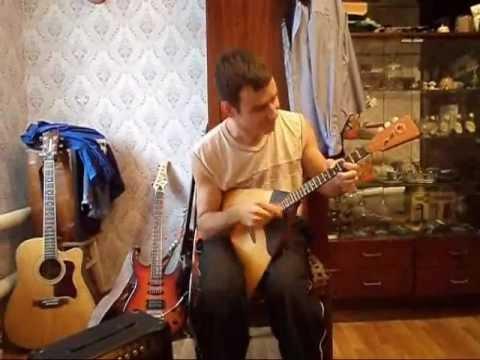 видео: Восьмиклассница Цоя под балалайку.wmv
