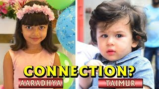 Taimur And Aradhya - Bollywood Family Connection