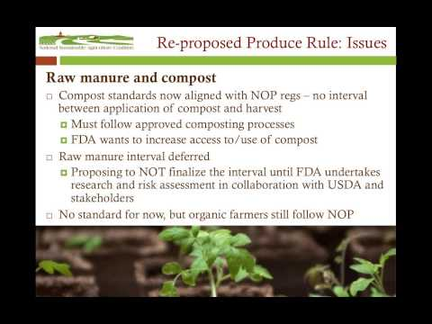 12.2.14 The Food Safety Modernization Act: What the new rules mean