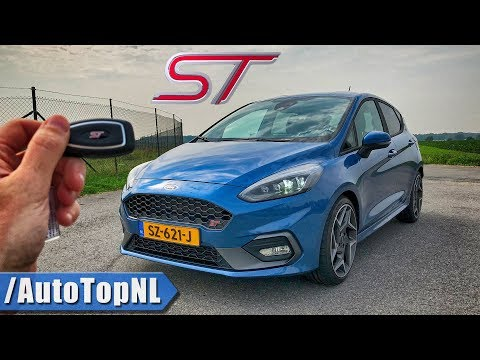 FORD FIESTA ST REVIEW POV Test Drive on AUTOBAHN & ROAD by AutoTopNL