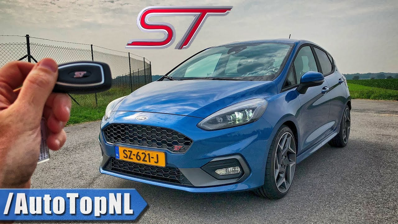 ford fiesta st review pov test drive  autobahn road  autotopnl youtube