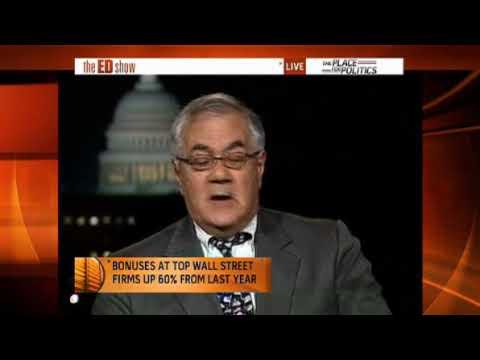 Bonuses increase on Wall St Rep. Barney Frank Ed S...
