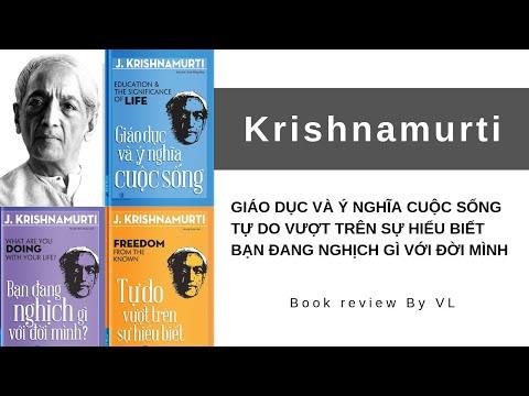 Bộ 3 cuốn sách của Krishnamurti I Review sách | Sách hay #20