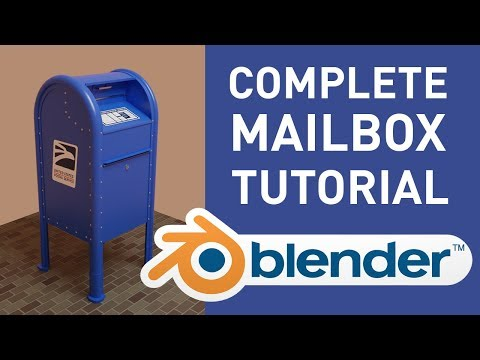 Create A Mailbox In Blender [Complete Tutorial]