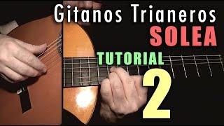 Free Stroke Exercise - 15 - Gitanos Trianeros (Solea) by Paco de Lucia