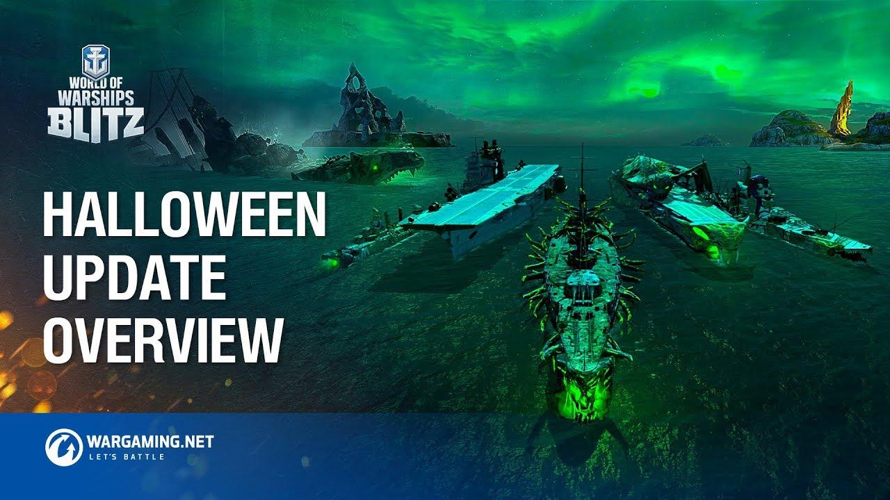 Halloween 2020 World Of Warships World of Warships Blitz: Halloween and Blitz Pass   YouTube