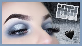 Cremated Palette Tutorial | Grey & Silver Halo Eye