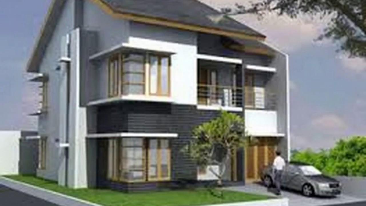 Model Rumah Minimalis Kaca Sudut Desain Rumah Modern