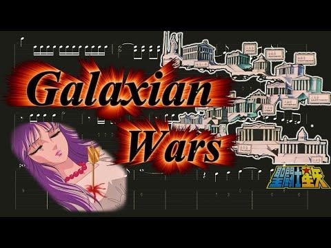Galaxian Wars Guitar Pro Tab - Saint Seiya
