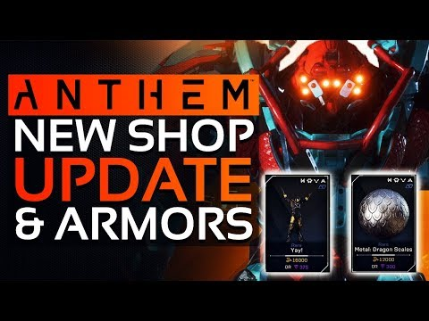 Anthem New Store Update - Interceptor & Colossus Armor Sets, Metal Dragon Scale & More!