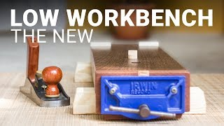 The Low Workbench 2.0 - A Mini Woodworking Bench with Lots of Features