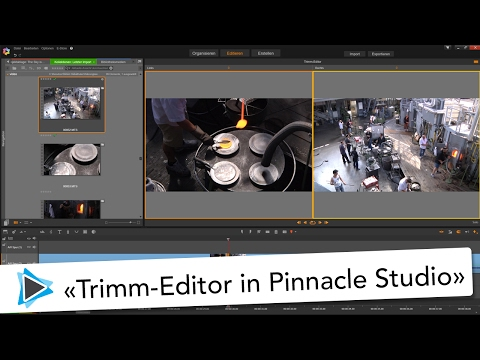 Trimm Editor in Pinnacle Studio 20 Deutsch Video Tutorial