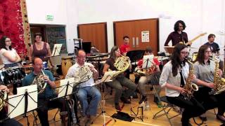Space: 1999 theme for wind band
