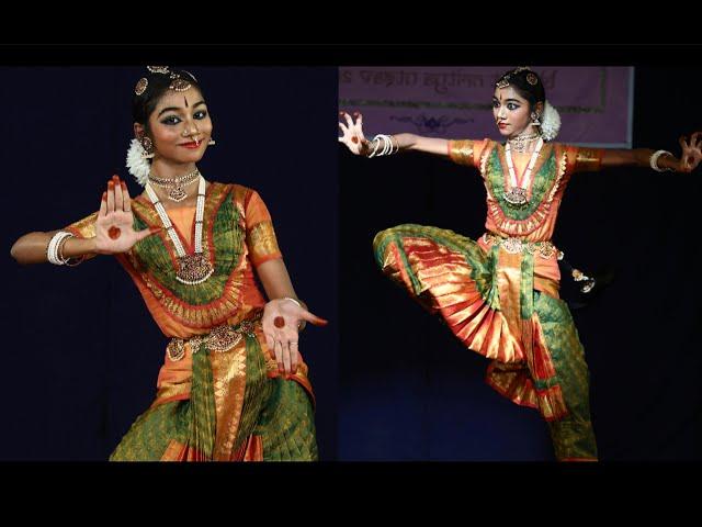 Keertanam by Sahana Dinesh - Sridevi Nrithyalaya - Bharathanatyam Dance