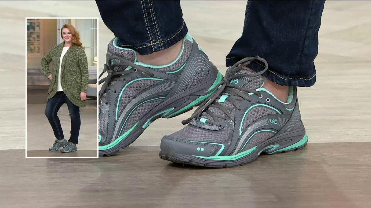 Mesh Lace-up Sneakers - Sky Walk on QVC