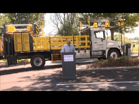 World's First Self-Driving Work Zone Vehicle