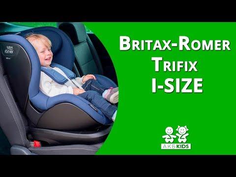 Установка автокресло Britax Romer Trifix I-SIZE (Трификс Ай-сайз  |  группа 1)